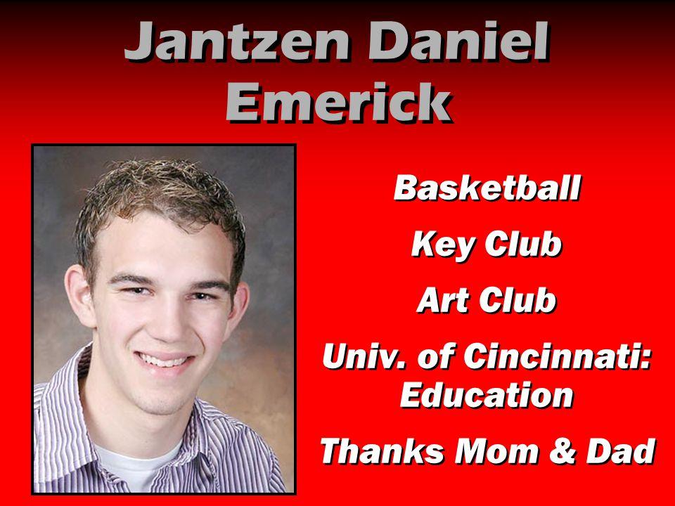 Jantzen Daniel Emerick