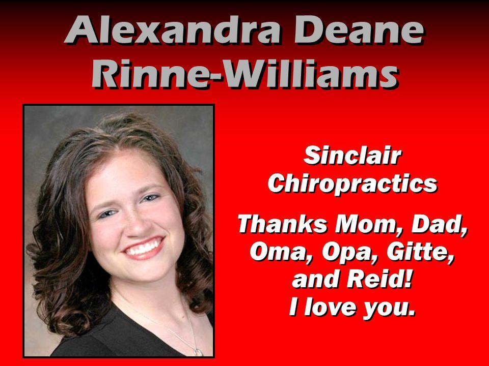 Alexandra Deane Rinne-Williams