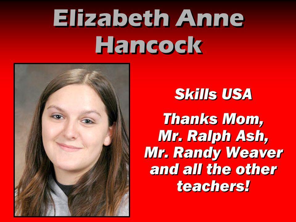 Elizabeth Anne Hancock