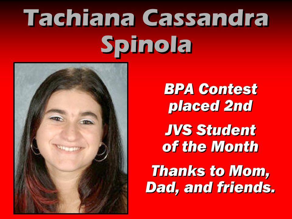 Tachiana Cassandra Spinola