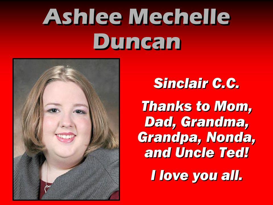 Ashlee Mechelle Duncan