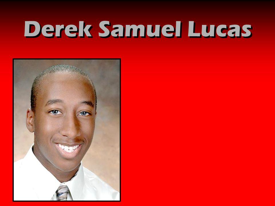 Derek Samuel Lucas