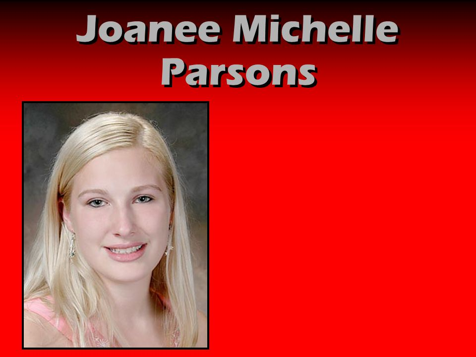 Joanee Michelle Parsons