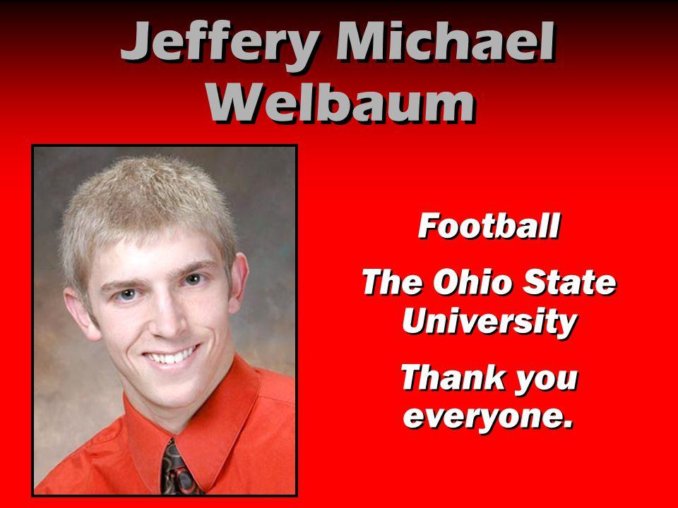 Jeffery Michael Welbaum