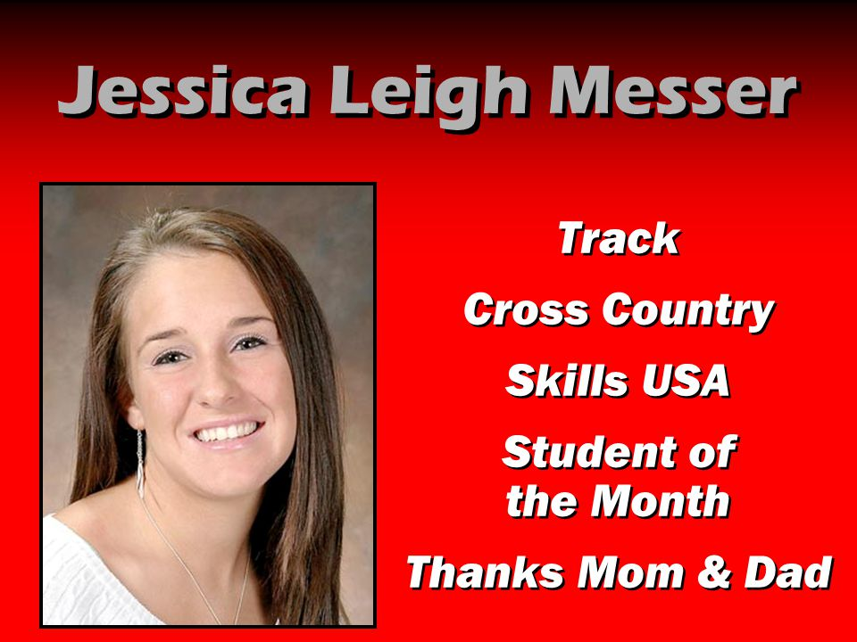 Jessica Leigh Messer Track Cross Country Skills USA