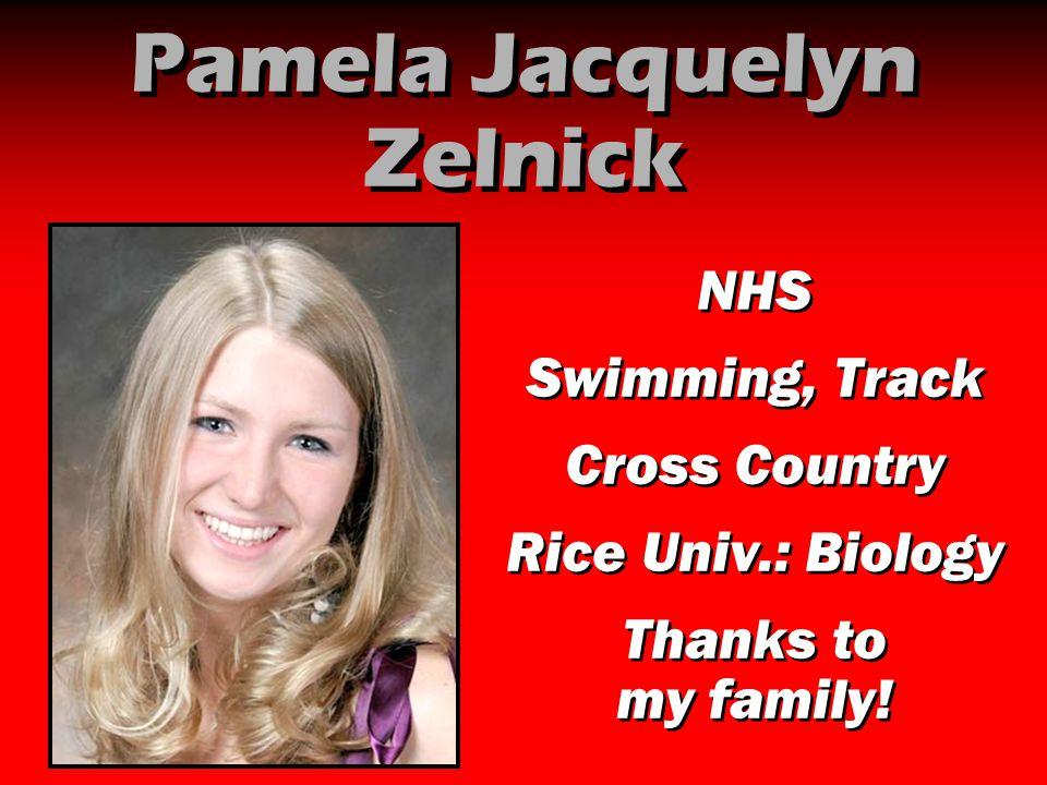 Pamela Jacquelyn Zelnick