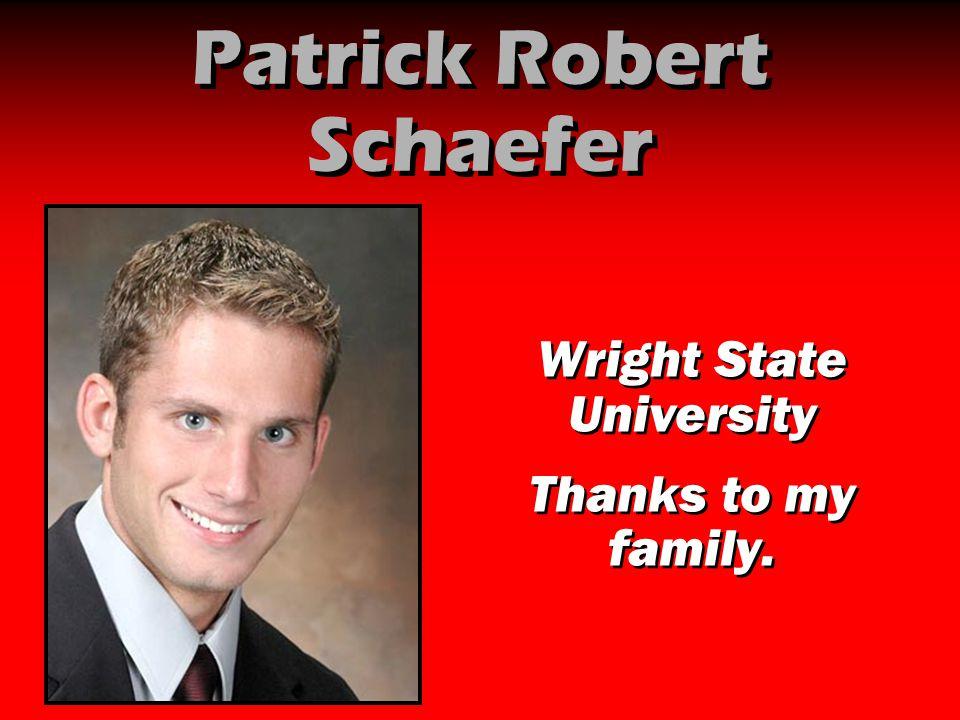 Patrick Robert Schaefer