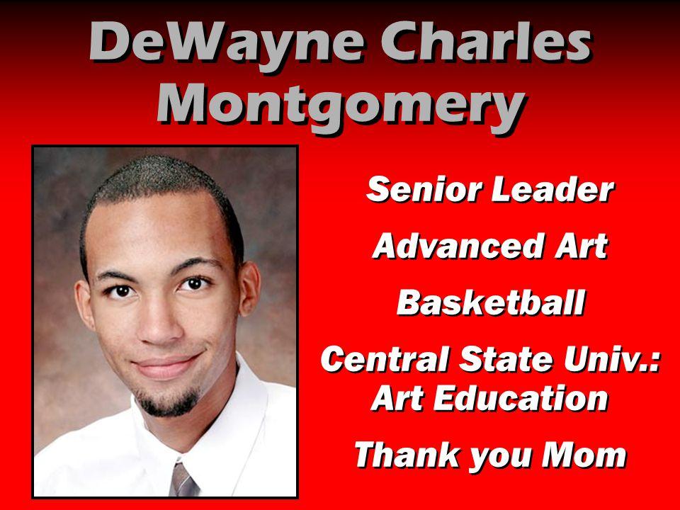 DeWayne Charles Montgomery