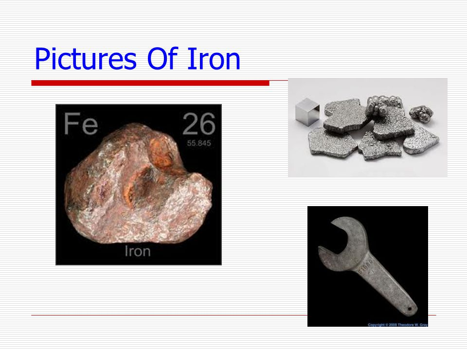 Pictures Of Iron