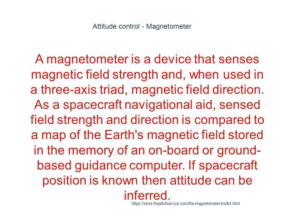 Attitude control - Magnetometer