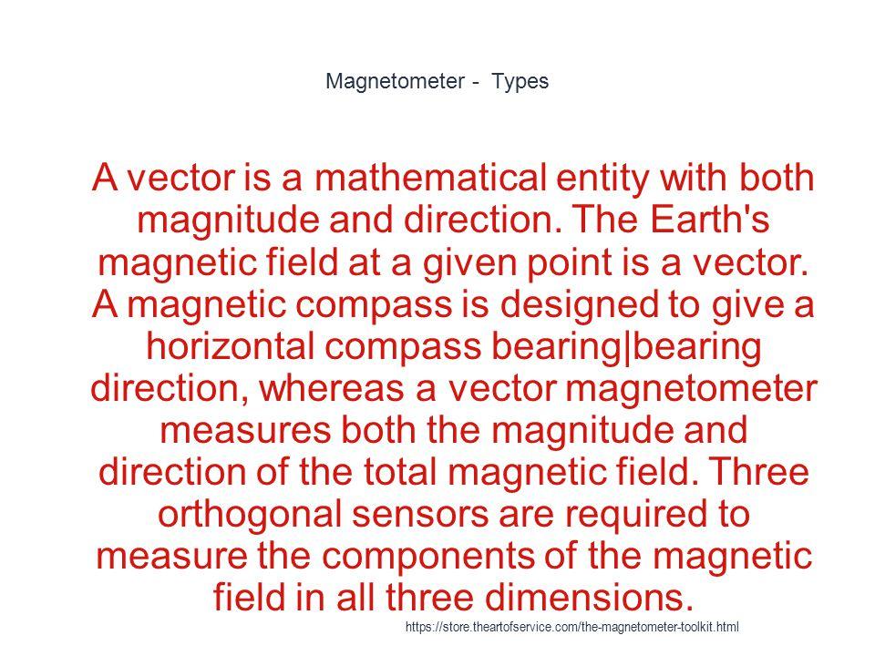 Magnetometer - Types