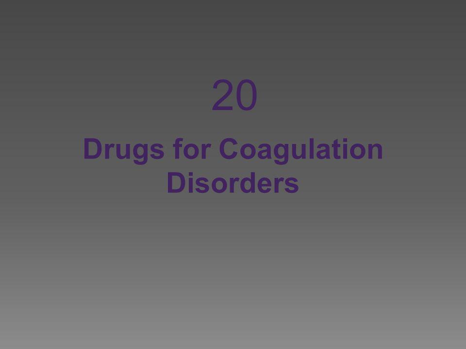 Drugs for Coagulation Disorders