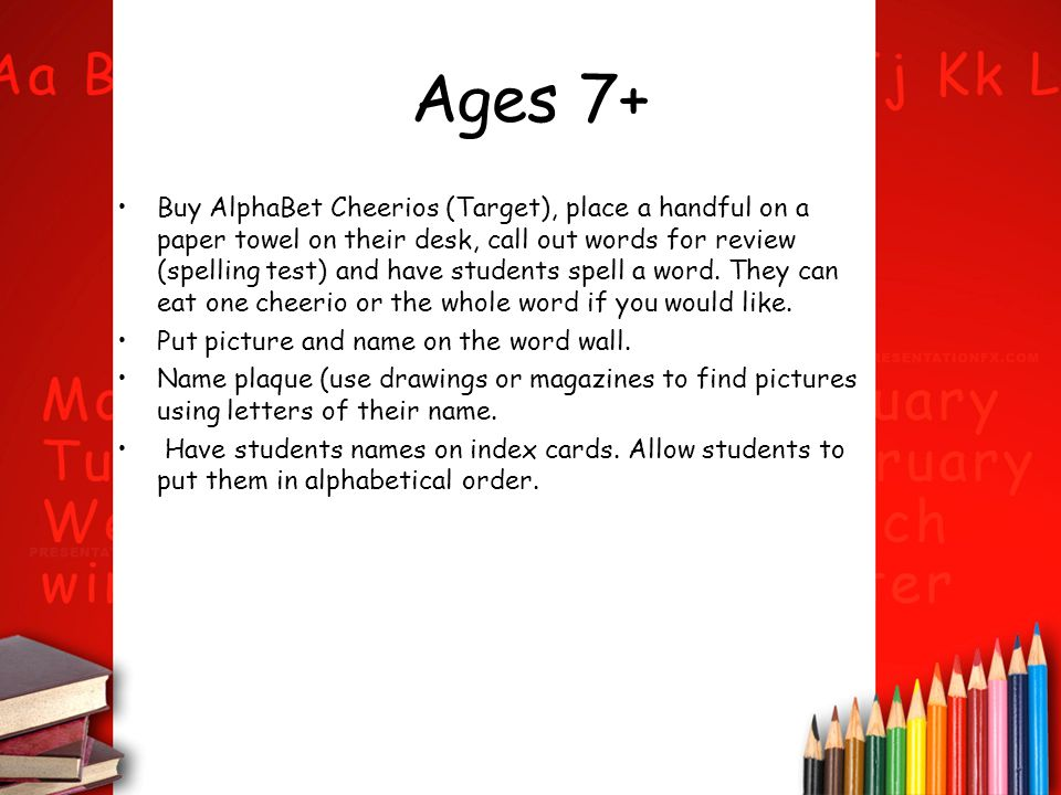 Ages 7+