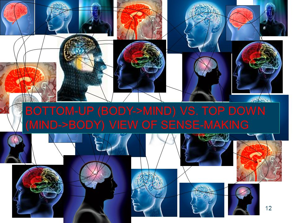 BOTTOM-UP (BODY->MIND) VS