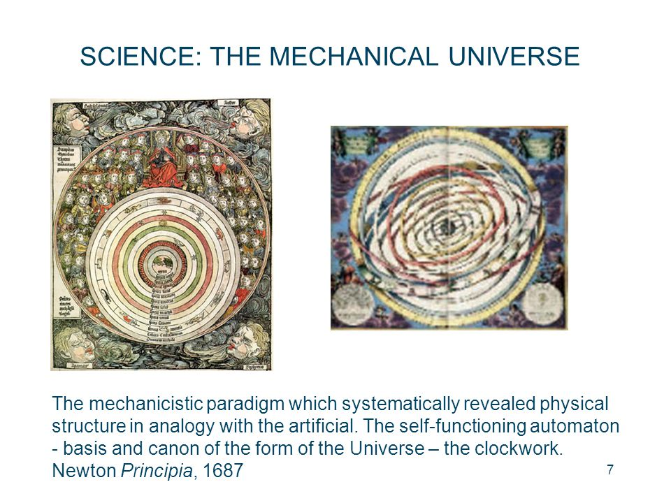 SCIENCE: THE MECHANICAL UNIVERSE
