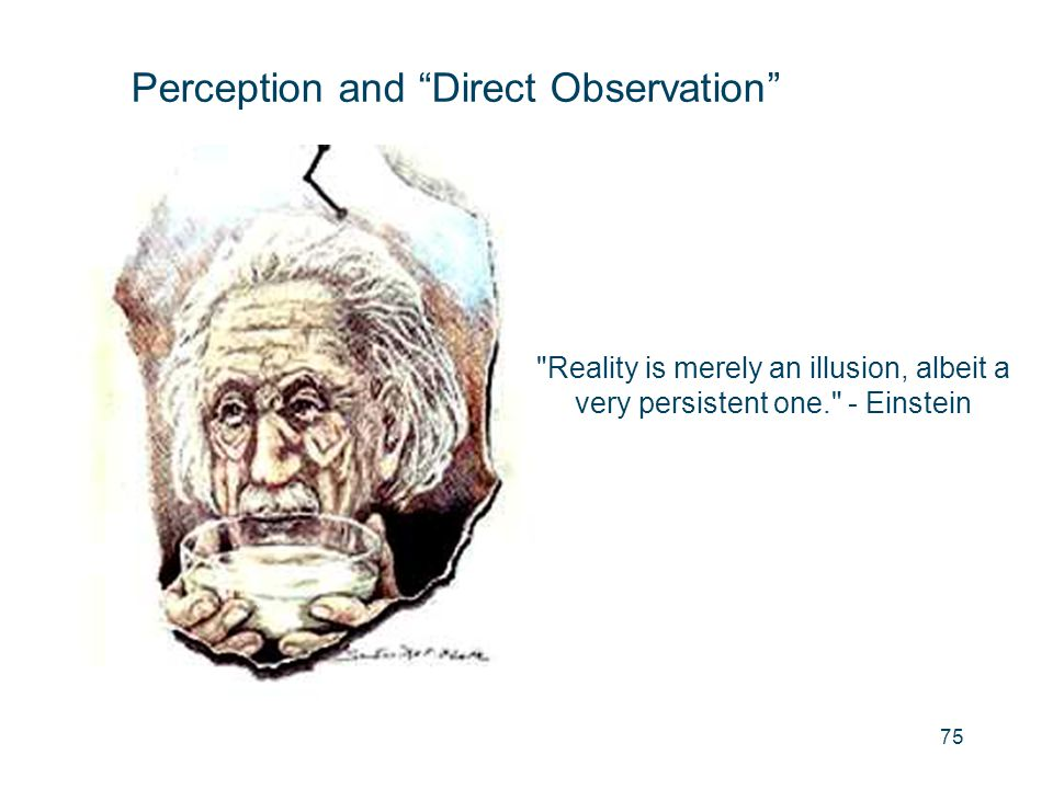 Perception and Direct Observation
