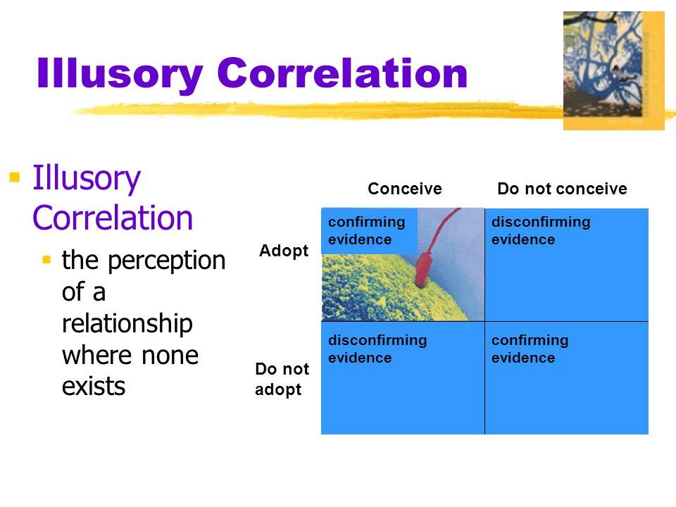 Illusory Correlation Illusory Correlation