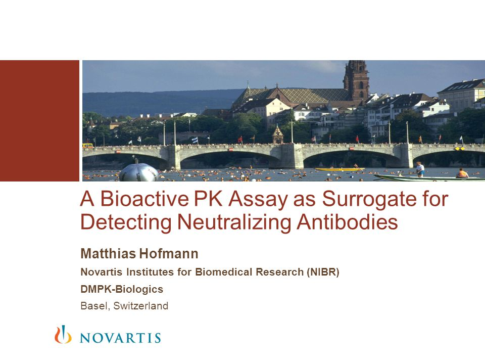 A Bioactive PK Assay as Surrogate for Detecting Neutralizing Antibodies
