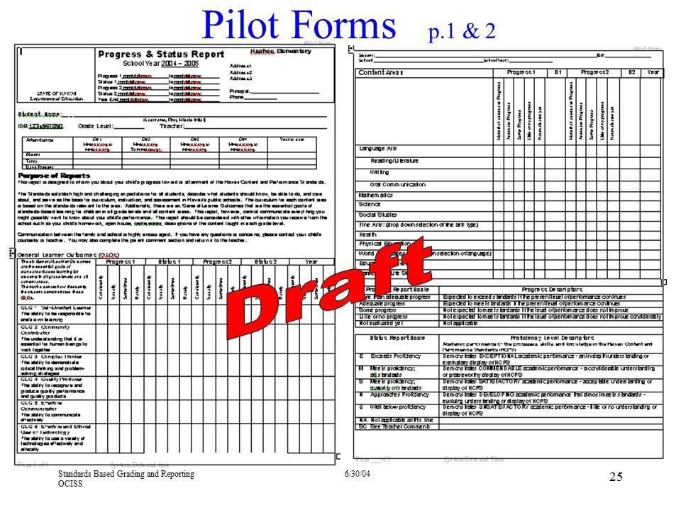Pilot Forms p.1 & 2 4/13/2017. Draft.