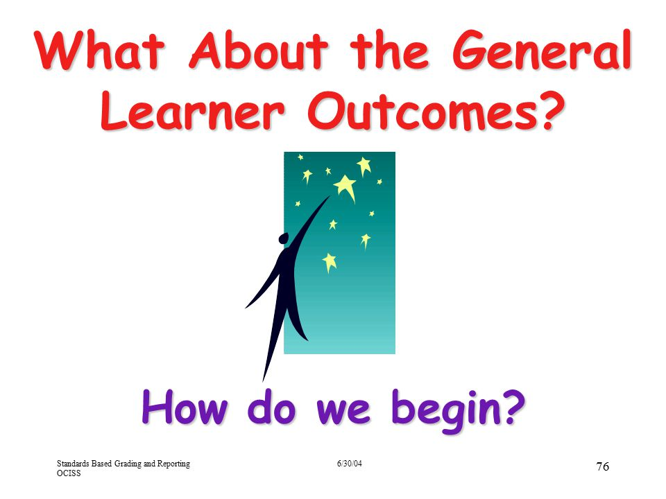 What About the General Learner Outcomes