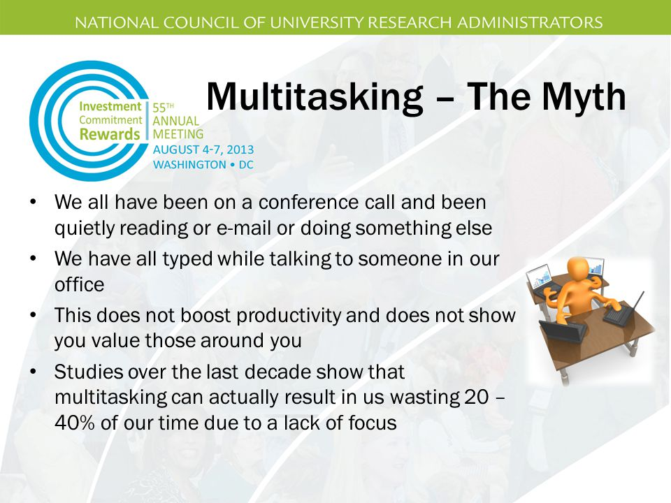 Multitasking – The Myth