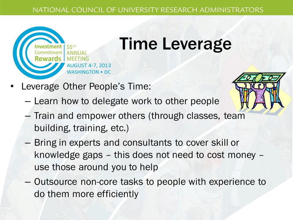 Time Leverage Leverage Other People's Time: