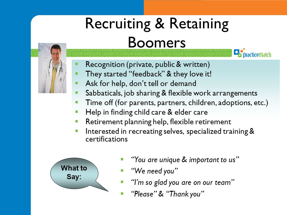 Recruiting & Retaining Boomers