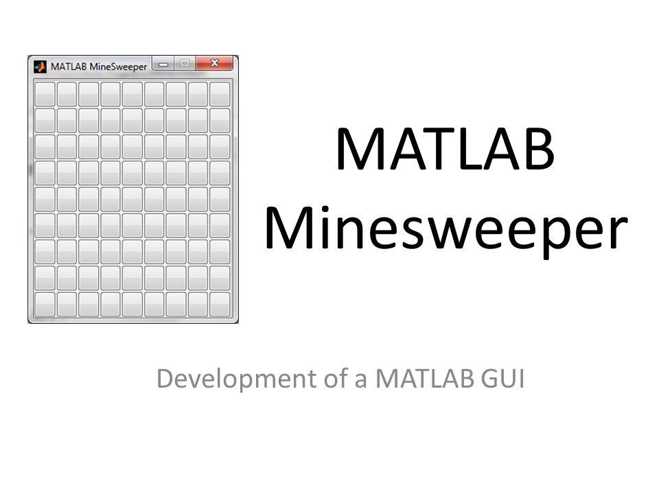 Development of a MATLAB GUI
