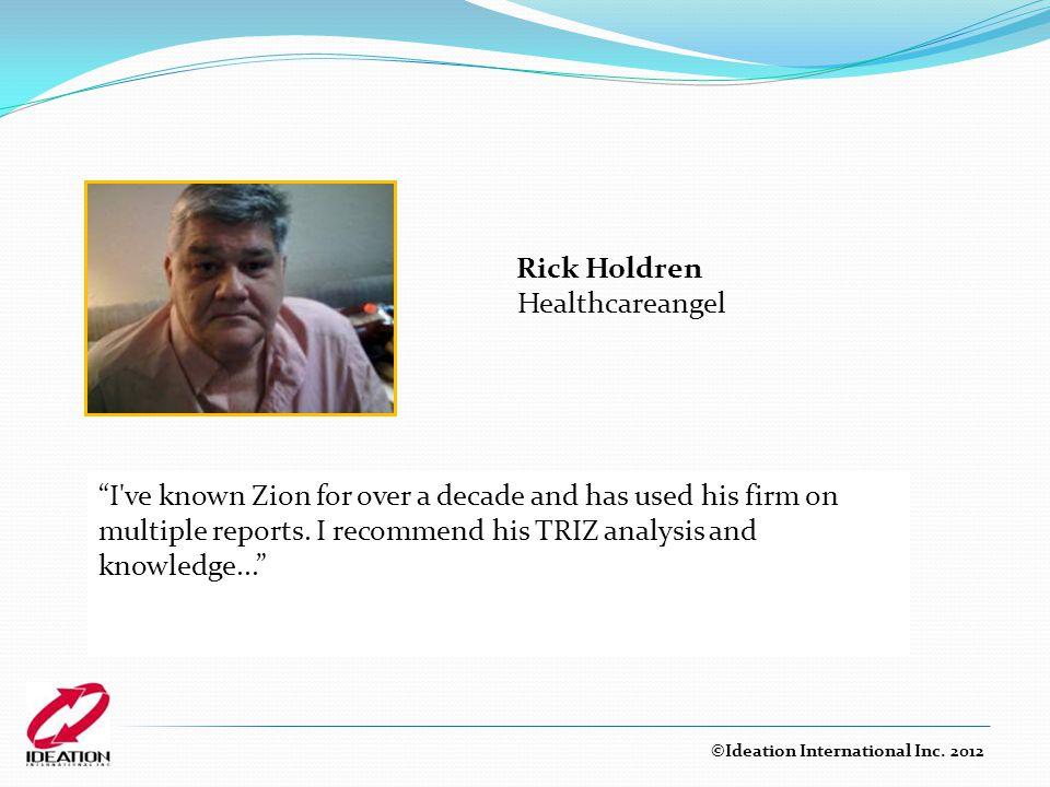 Rick Holdren Healthcareangel