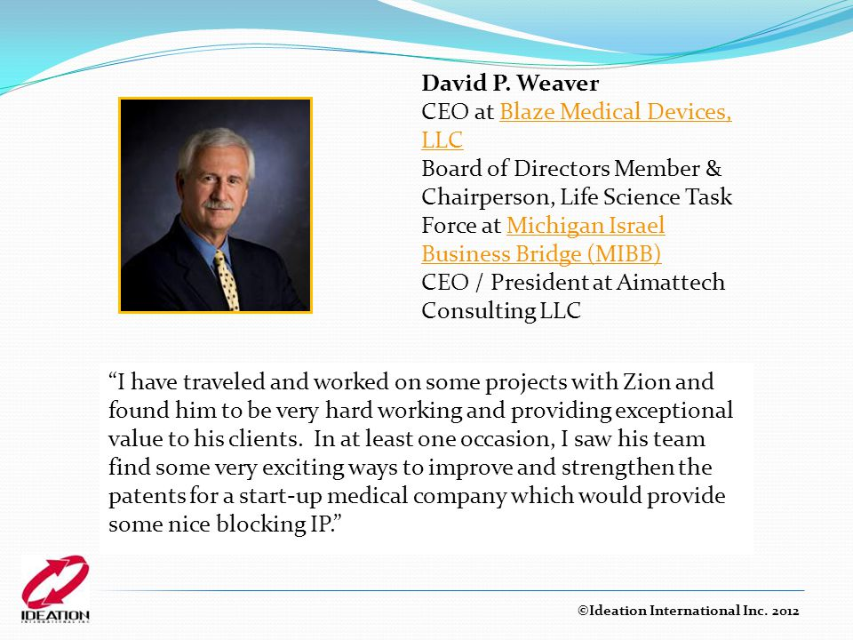CEO at Blaze Medical Devices, LLC