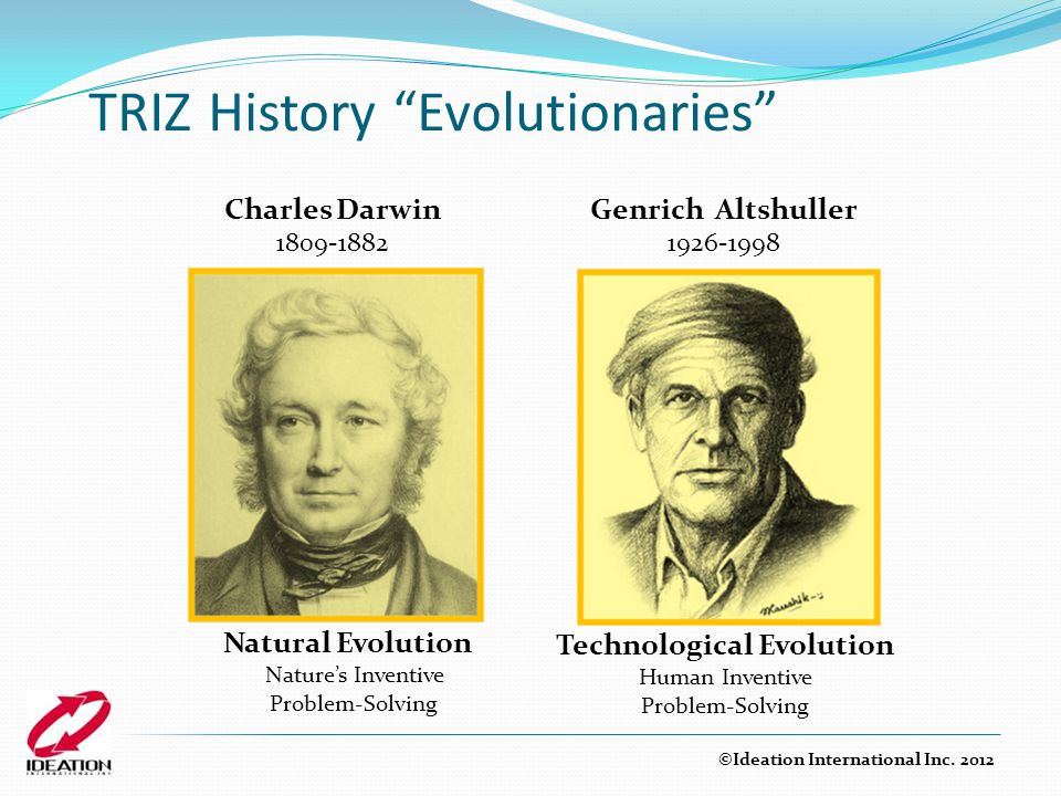 TRIZ History Evolutionaries