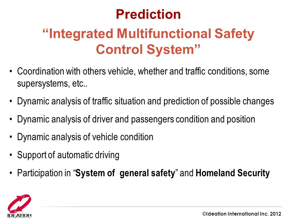 Integrated Multifunctional Safety Control System