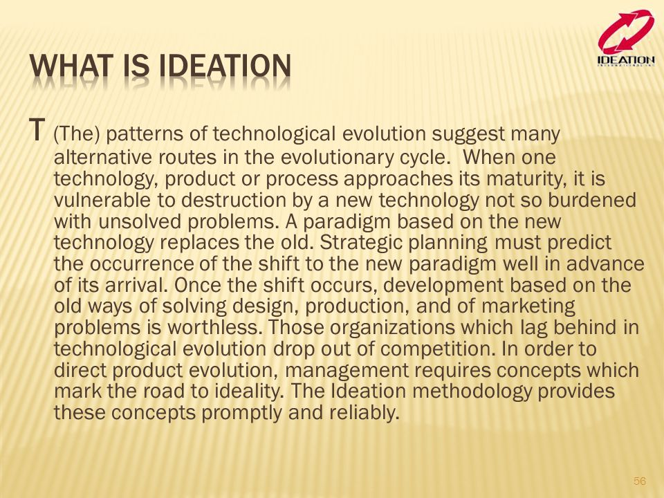 What is Ideation