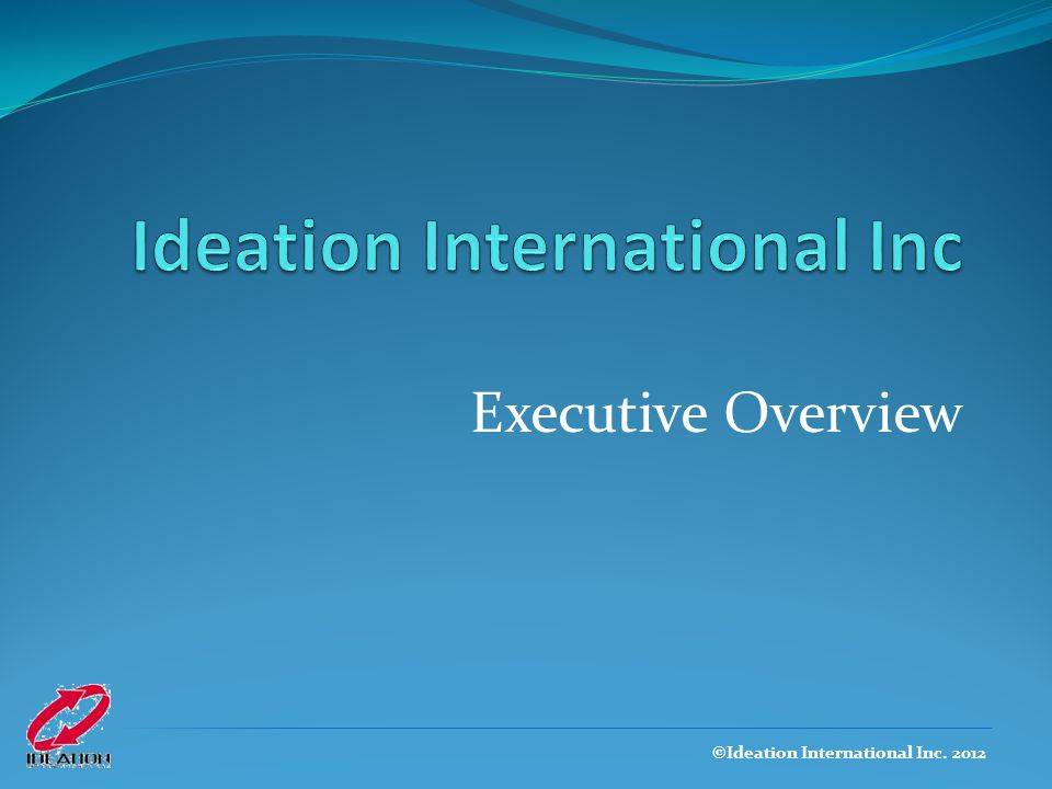 Ideation International Inc