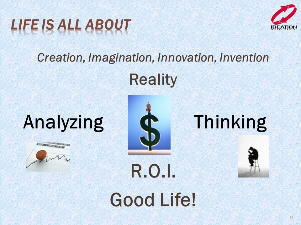 Creation, Imagination, Innovation, Invention