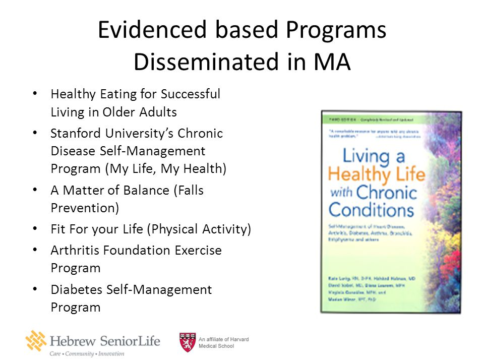 Evidenced based Programs Disseminated in MA
