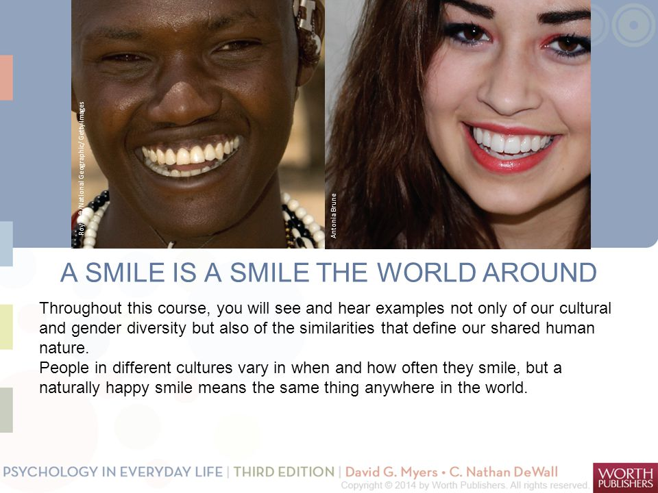 A SMILE IS A SMILE THE WORLD AROUND