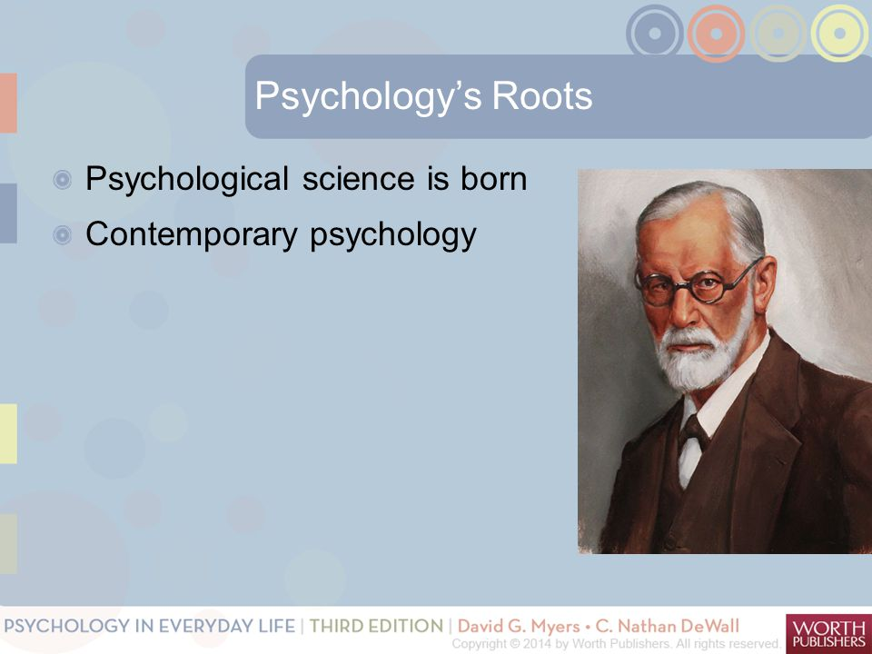 Psychology's Roots Psychological science is born