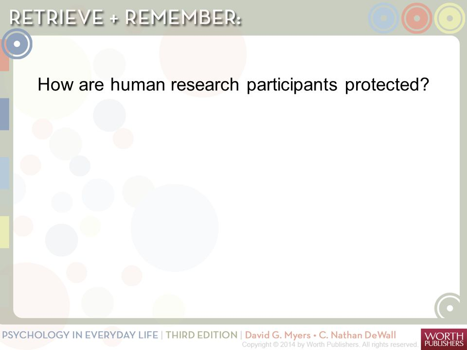 critical analysis of a quantitative study on protection of human participants Phrp.