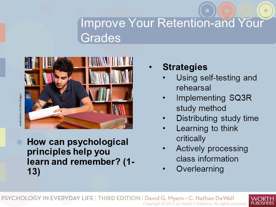 Improve Your Retention-and Your Grades