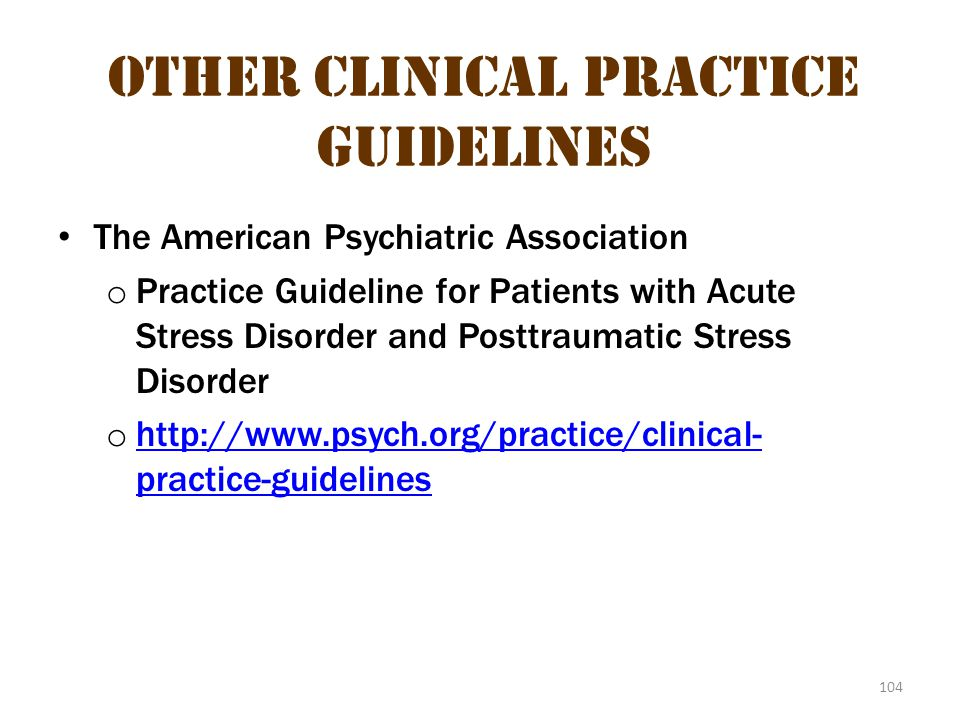 Other Clinical Practice Guidelines 3