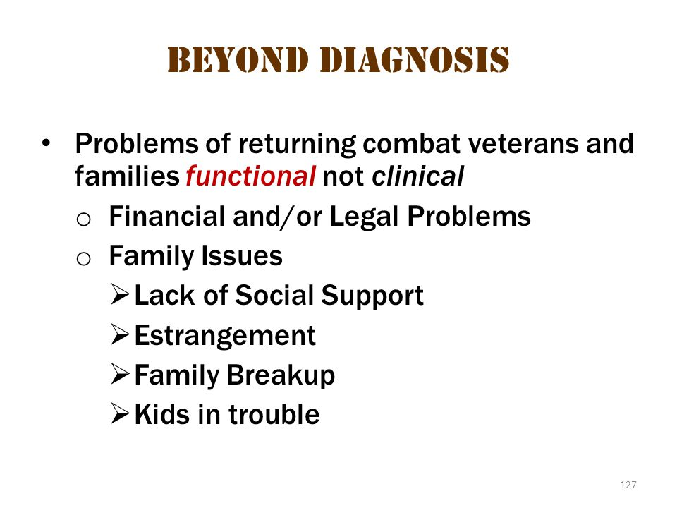 Beyond diagnosis 2 Beyond diagnosis