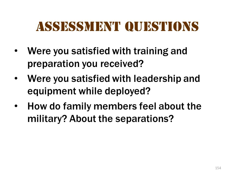 Assessment questions 2 Assessment Questions