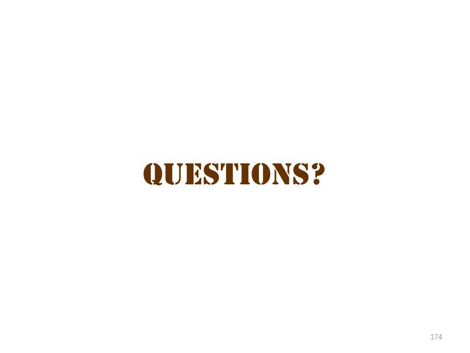 Questions 5 Questions 174