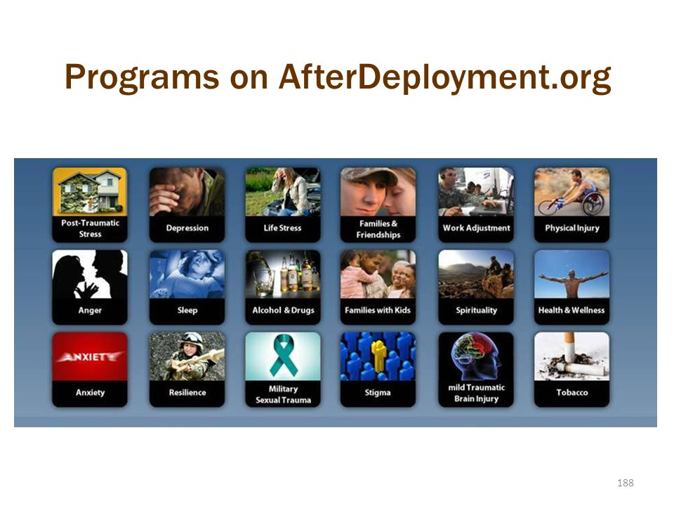 Programs on AfterDeployment.org