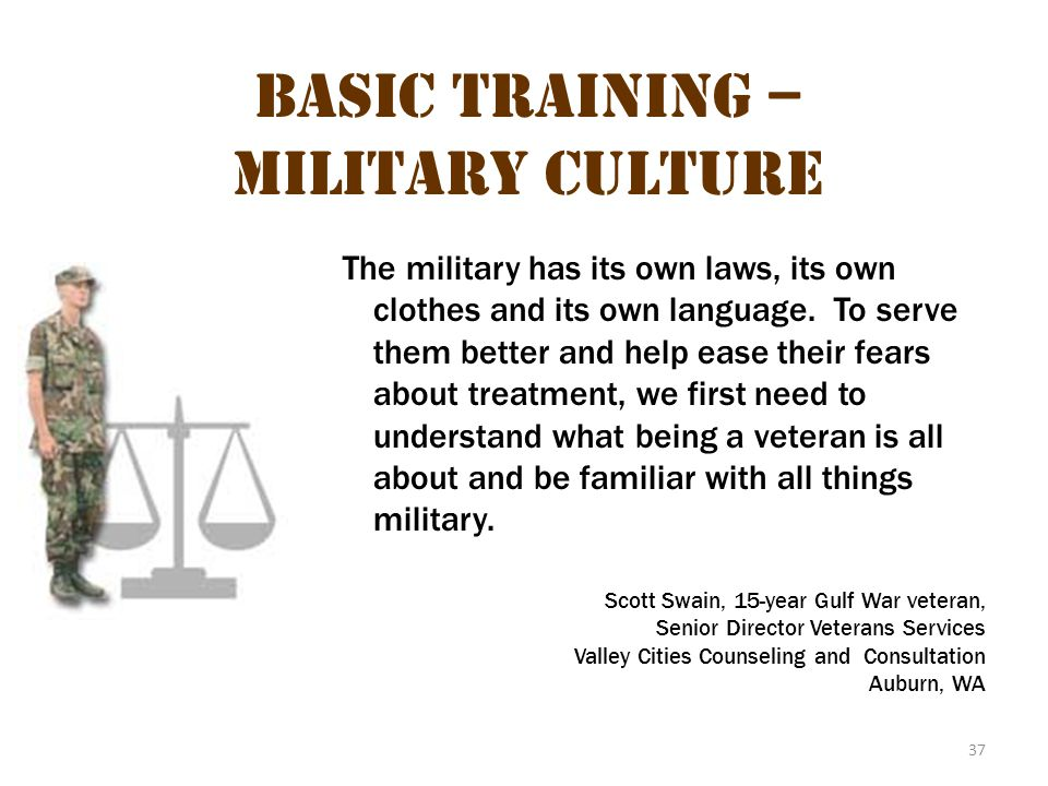 Basic Training – Military Culture 3