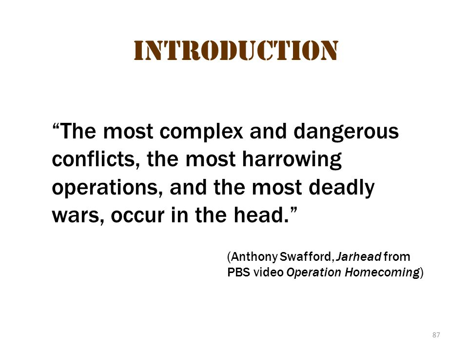 Posttraumatic stress disorder Introduction