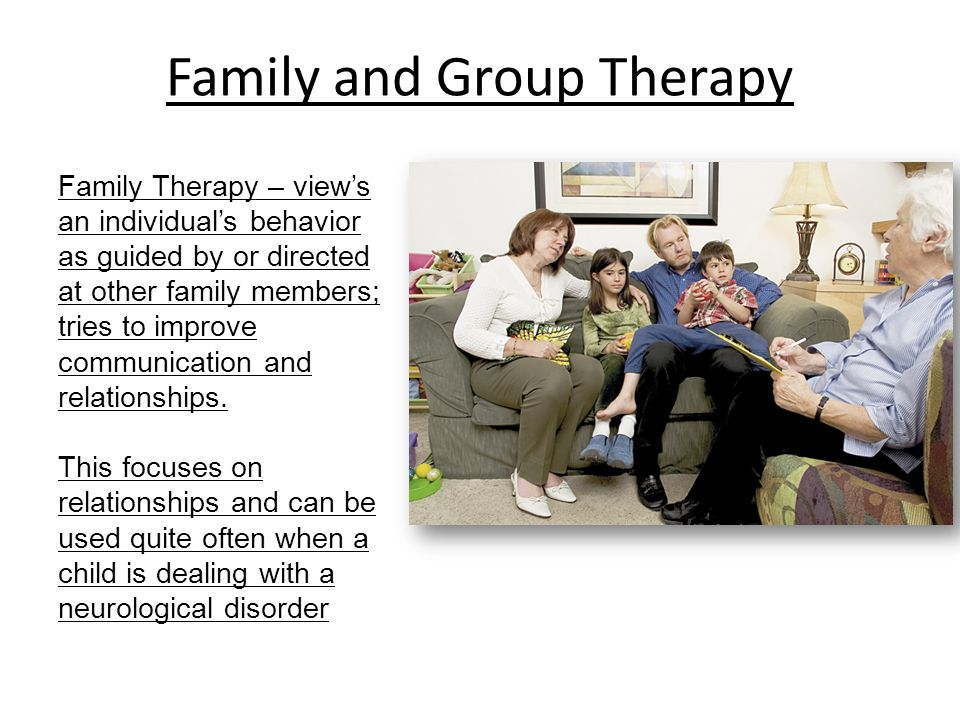 Family and Group Therapy