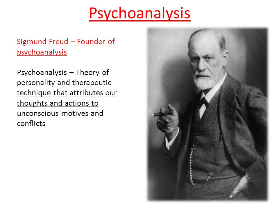 understanding sigmund freuds psychoanalytic theory Psychodynamic perspectives on personality sigmund freud 's psychoanalytic theory of personality argues that human behavior is the result of the interactions although freud's theories have many advantages that helped to expand our psychological understanding of personality, they are.