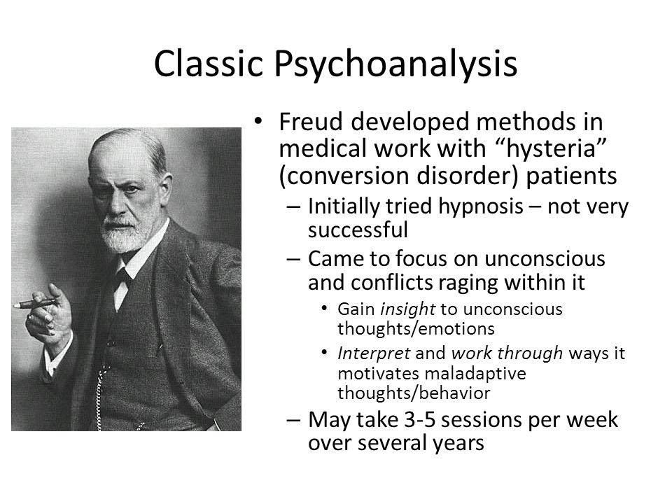 Classic Psychoanalysis